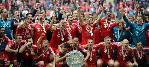 Le Bayern Munich entre dans l'Histoire !