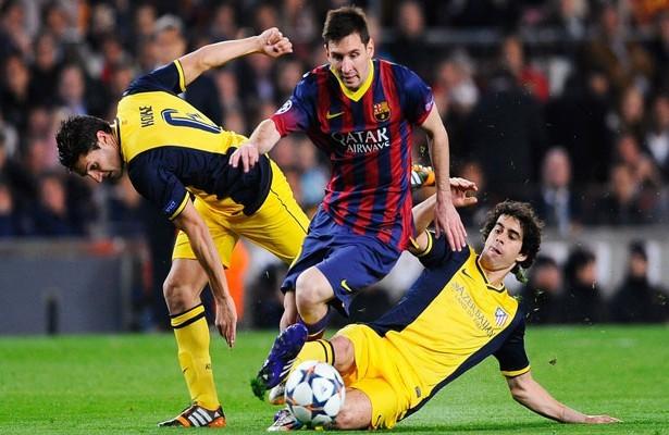 Ligue des Champions : Un habituel match nul entre L'Atlético Madrid et le Barça !