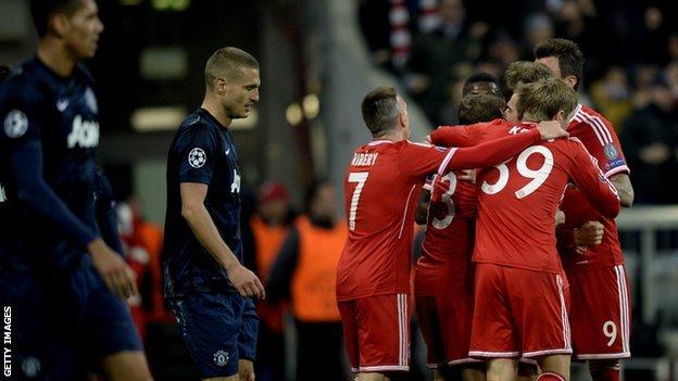 LdC : Le Bayern s'est fait peur face à Manchester United (3-1)