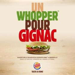 OM - Photo : Burger King se moque de Gignac !