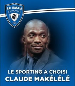 Claude Makelele s'engage avec Bastia
