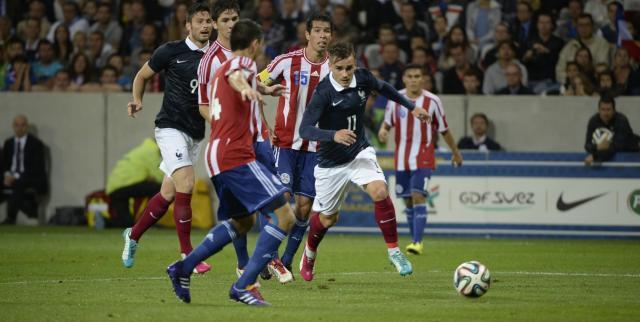 CM 2014 - Amical : Les Bleus accrochés par le Paraguay !