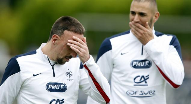 Malgré qu'il soit dans les 23, Ribéry n'est pas certain de faire le voyage au Brésil !