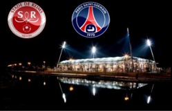 Les groupes du Stade de Reims et du Paris Saint-Germain