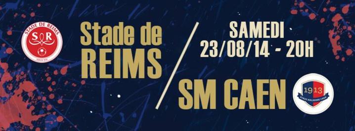 Stade de Reims : Conte et De Préville de retour contre Caen, Weber, Fortes, Glombard, Turan, absent