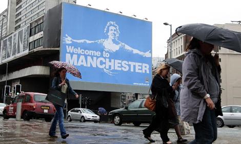 Du pur et simple humour britannique dans cette affiche suite à la venue de Carlos Tevez dans le deuxième club de Manchester de sa carrière, cependant pas sûr que les voisins de United aient réellement apprécié…