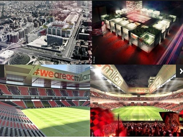 Le nouveau projet de stade du Milan AC ( photos )