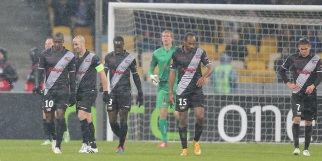 Fin de l'aventure en Ligue Europa  pour Guingamp, éliminé à Kiev