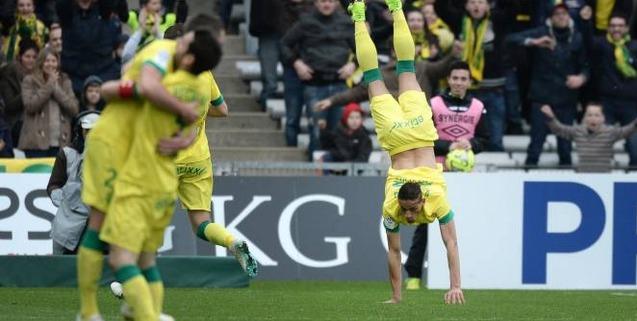 Première victoire de Nantes en 2015 contre  Guingamp