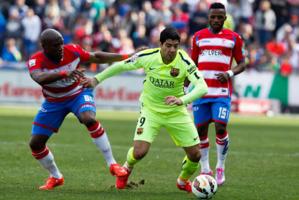 Luis Suarez revient en grande forme en cette fin de saison. Et le Barça en profite pleinement…