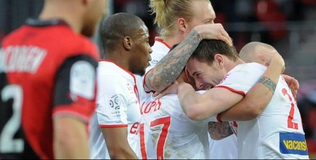 Lille s'impose contre Guingamp