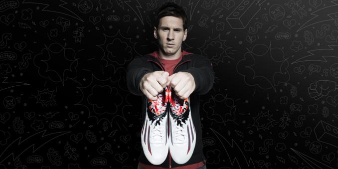 Leo Messi à l'honneur dans la nouvelle vidéo #ThereWillBeHaters d'adidas