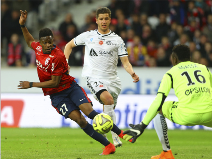 Lille s'impose contre Reims