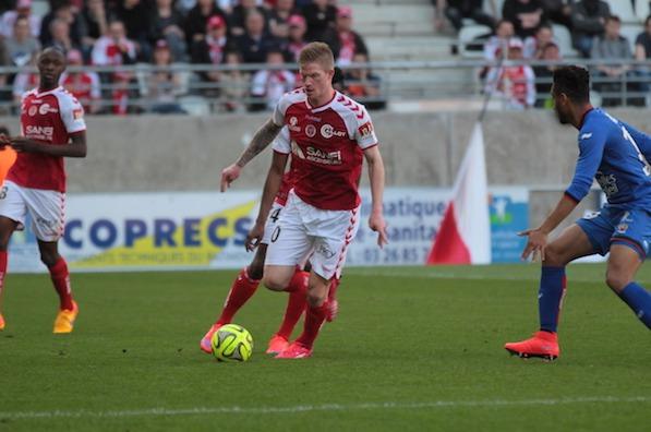Reims battu contre Nice se rapproche dangereusement de la zone rouge