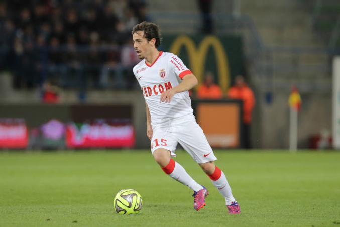 Bernardo Silva, auteur d'un doublé à Caen, a propulsé Monaco sur le podium de la Ligue 1.