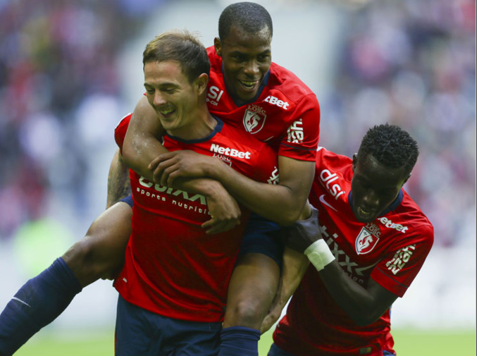 Lille s'impose contre Bordeaux