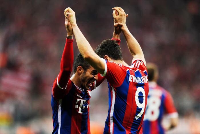 Pour Lewandowski et Alcantara, le boulot a été fait et bien fait. Le Bayern rêve maintenant à l'Europe !