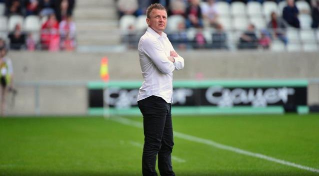 Olivier Guégan l'entraîneur de Reims