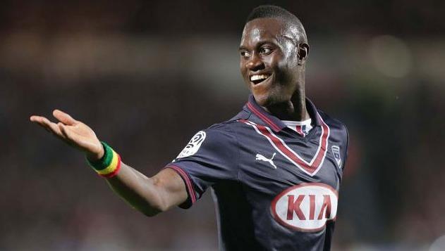 L'attaquant des Girondins de Bordeaux Henri Saivet