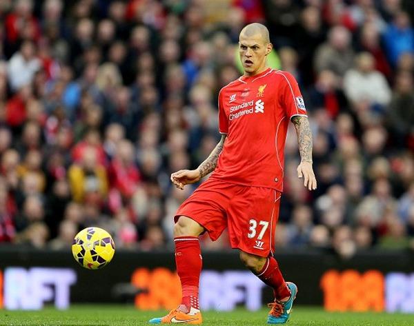 Le défenseur de Liverpool Martin Skrtel