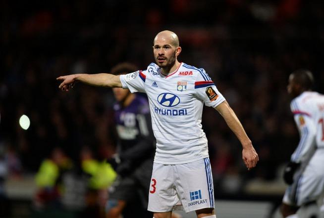 Le défenseur de Lyon Christophe Jallet