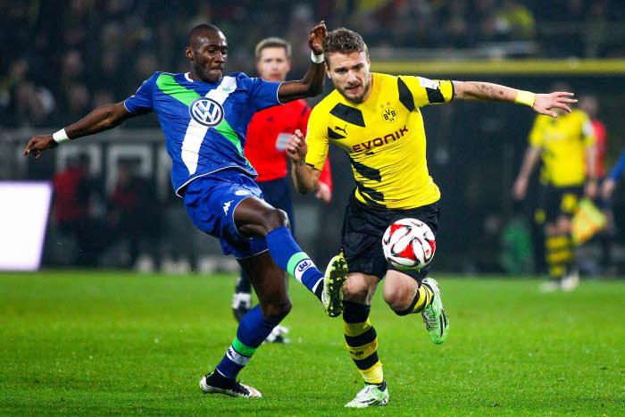 Le duel entre Immobile et Guilavogui s'avère crucial autant pour Dortmund que pour Wolfsburg.