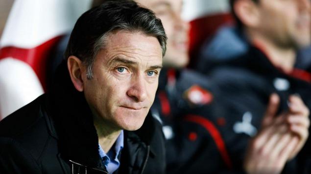 L'entraîneur de Rennes Philippe Montanier
