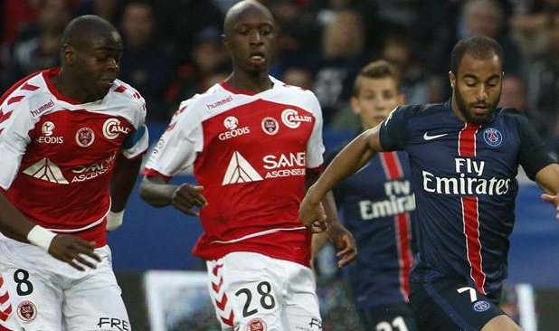 Le Paris SG s'impose contre le Stade de Reims