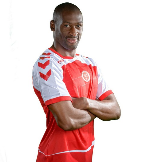 Le défenseur central du Stade de Reims Mohamed Fofana