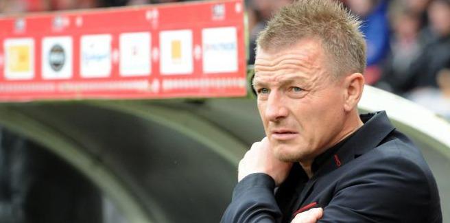 L'entraîneur du Stade de  Reims Olivier Guégan