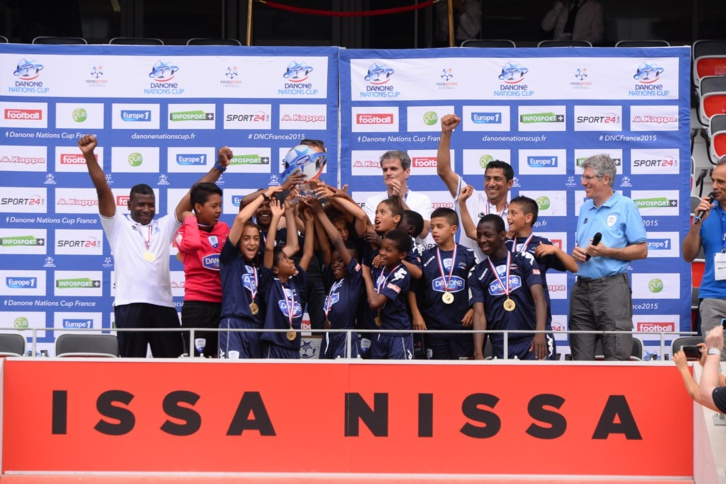 Paris FC remporte la 16ème édition de la Danone Nations Cup France