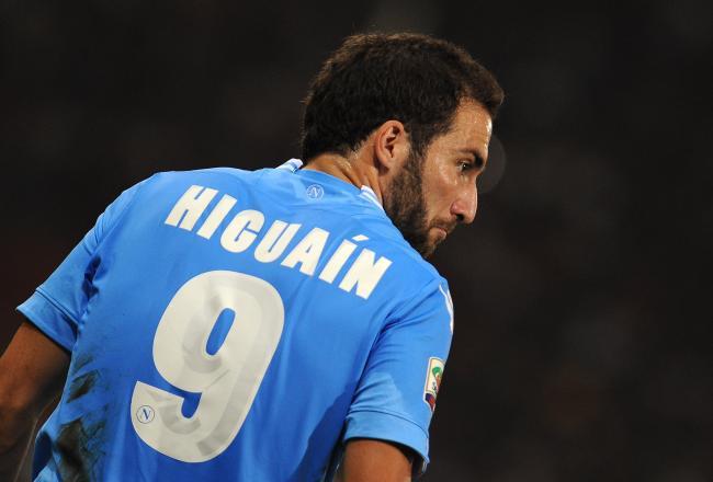 Higuain veut rejoindre Arsenal !