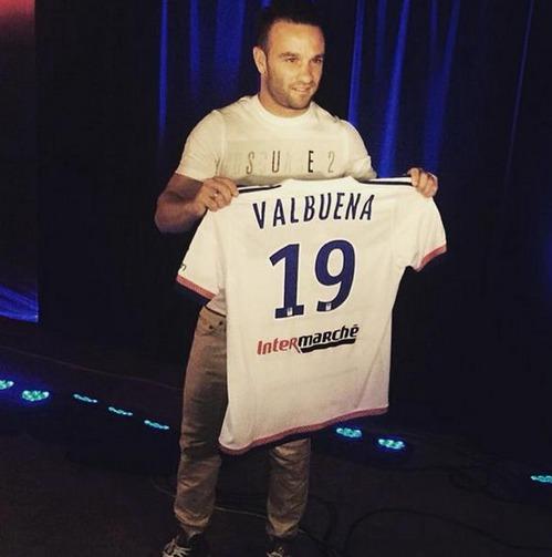 Officiel : Mathieu Valbuena à Lyon