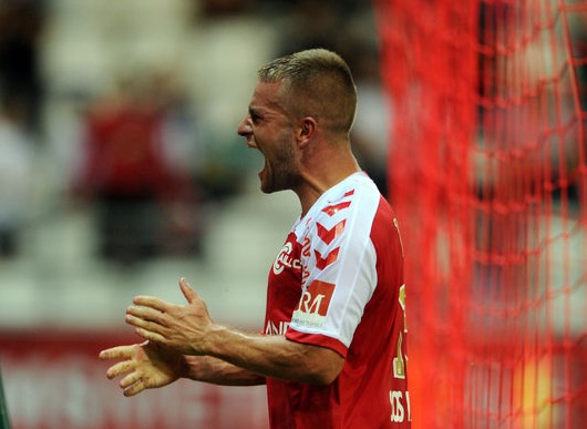 Le défenseur du Stade de Reims, AtilaTuran a inscrit son premier but de la saison contre Lorient
