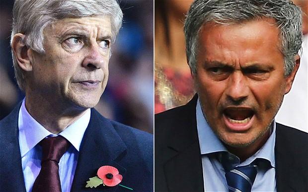 La raison pour laquelle Mourinho ne peut pas blairer Wenger