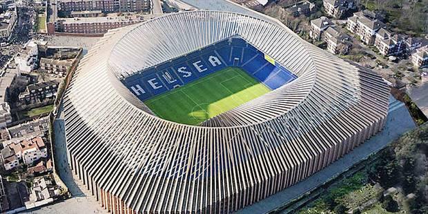 Chelsea : Un nouveau Stamford Bridge pour 700 millions d'euros