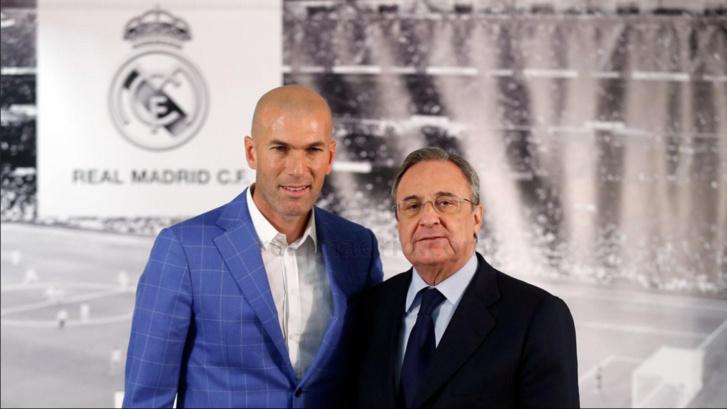 Zinedine Zidane nommé entraîneur du Real Madrid