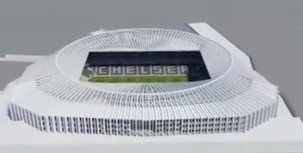 Visite virtuelle du nouveau stade de Chelsea