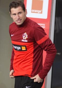 Grzegorz Krychowiak avec la Pologne (crédit photo Roger Gor )
