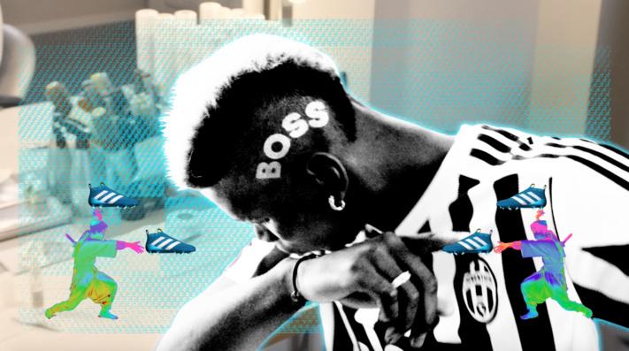 Adidas divulgue un nouveau mini-film, afin de fêter l'arrivée de Paul Pogba
