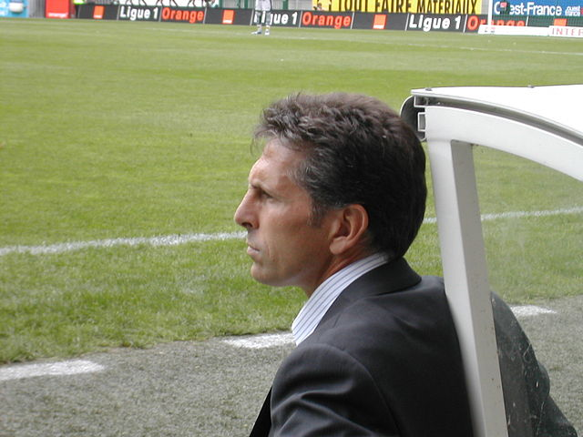 Le coach de Nice Claude Puel ( crédit photo By Pymouss44 (Own work) [GFDL (http://www.gnu.org/copyleft/fdl.html)
