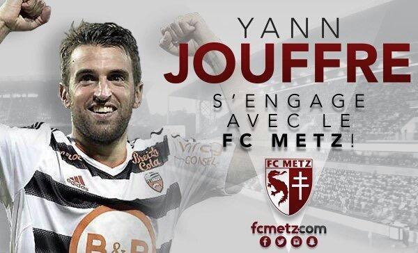 OFFICIEL! Yann Jouffre s'engage au FC Metz