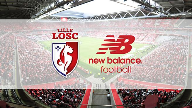 New Balance devient l'équipementier du LOSC