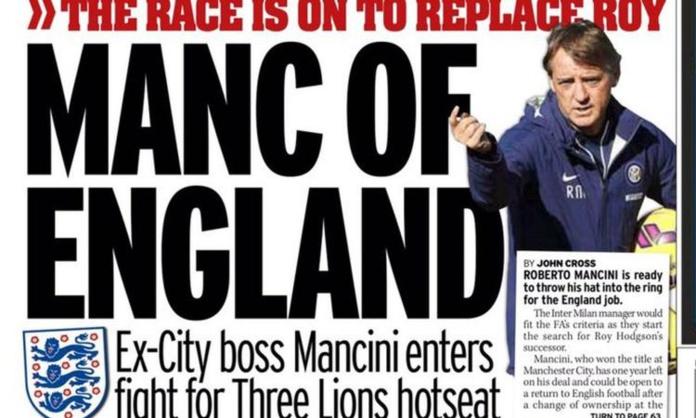Roberto Mancini nouveau sélectionneur Anglais ?