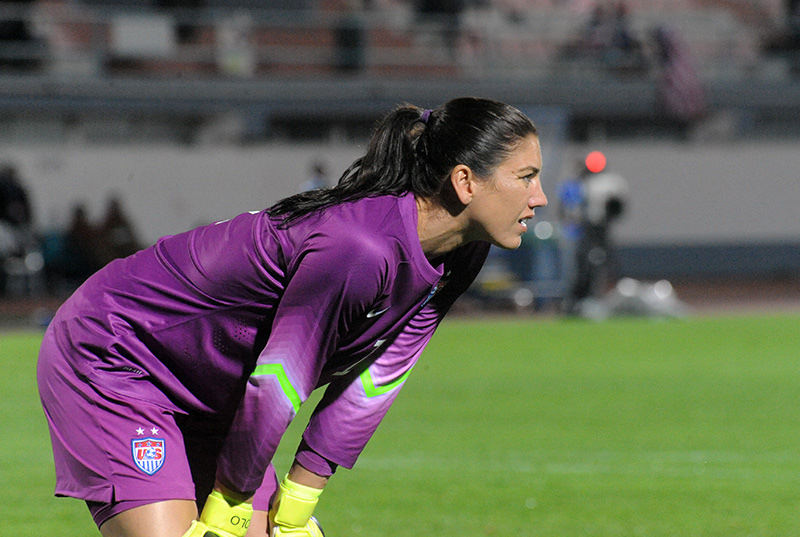 Hope Solo By Anders Henrikson (a_49_5562) [CC BY 2.0 (http://creativecommons.org/licenses/by/2.0)], via Wikimedia Commons