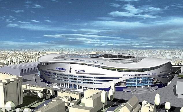 Tottenham va toucher le jackpot avec son nouveau stade