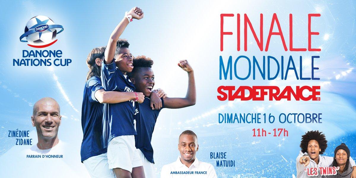FINALE MONDIALE DE LA DANONE NATIONS CUP AU STADE DE FRANCE