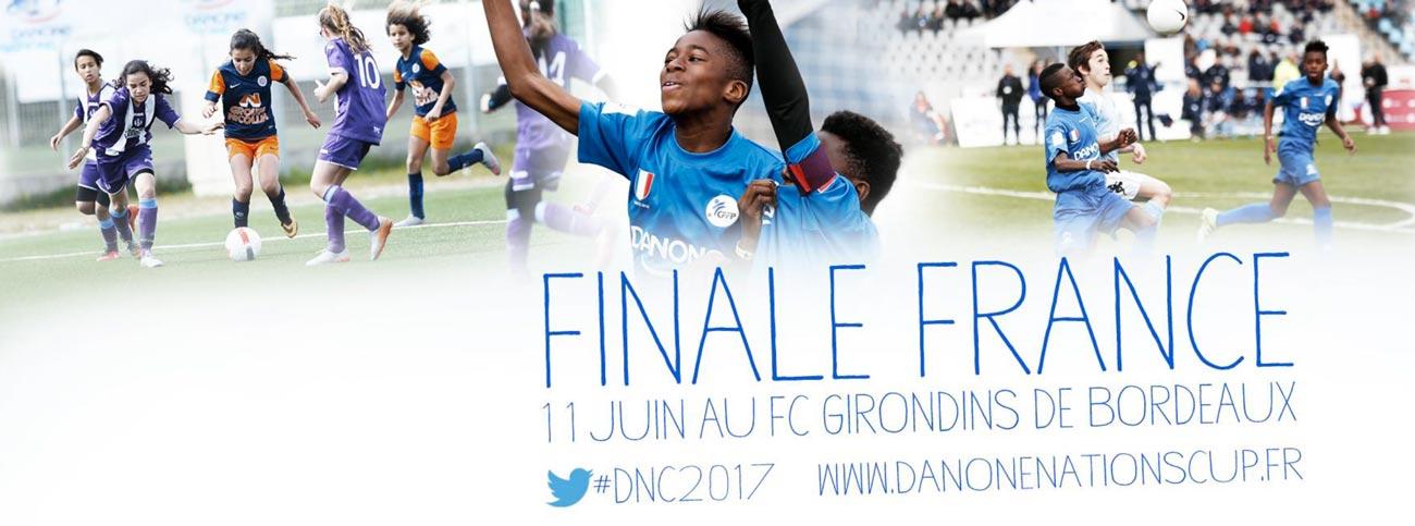 Coup d'envoi de la Danone Nations Cup 2017 avec pour la première fois un tournoi féminin !
