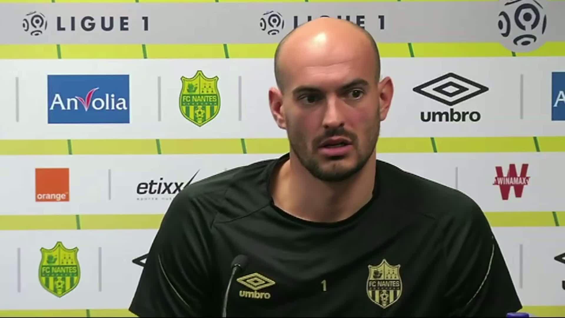 Gardien du FC Nantes, Rémy Riou - L'Equipe
