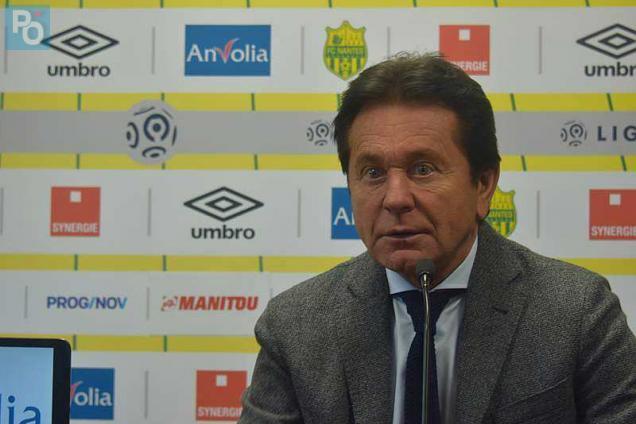 Le président du FC Nantes - Crédit photo : Presse Ocean